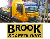 Logo for Brook Scaffolding